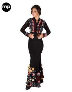 camisa flamenca mujer