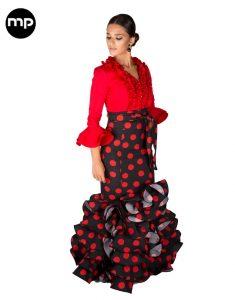 faldas flamencas rocieras