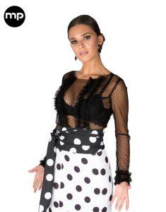 blusa flamenca plumeti