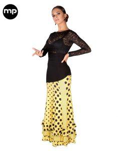 faldas flamencas lunares